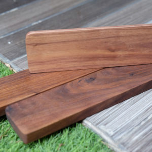 Kê lót tay bàn phím gỗ óc chó walnut - 60% / TKL / Full-size