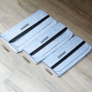 Túi vải nỉ bảo vệ bàn phím cơ chống sốc - 60% | 65% | 87%